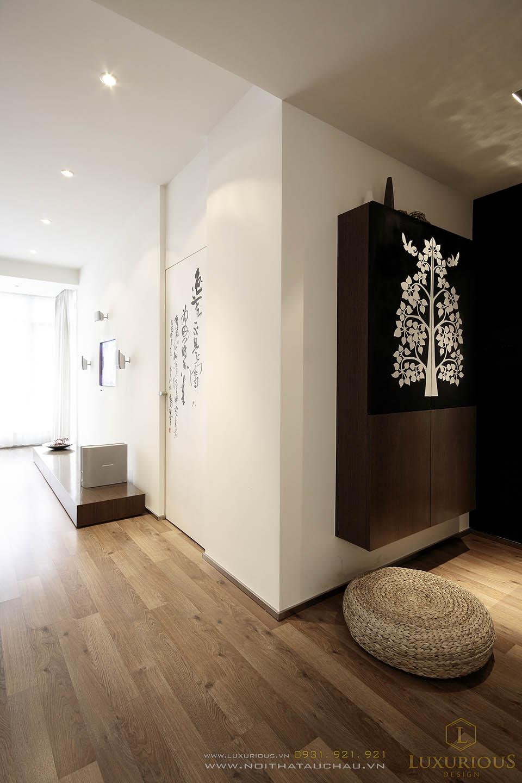 Thiết kế nội thất biệt thự liền kề 3 tầng phong cách hiện đại