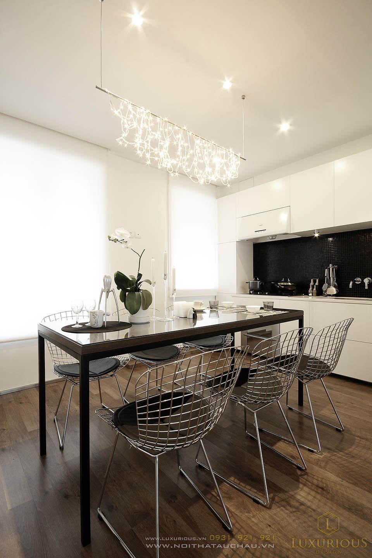 Thiết kế nội thất biệt thự đẹp 3 tầng hiện đại