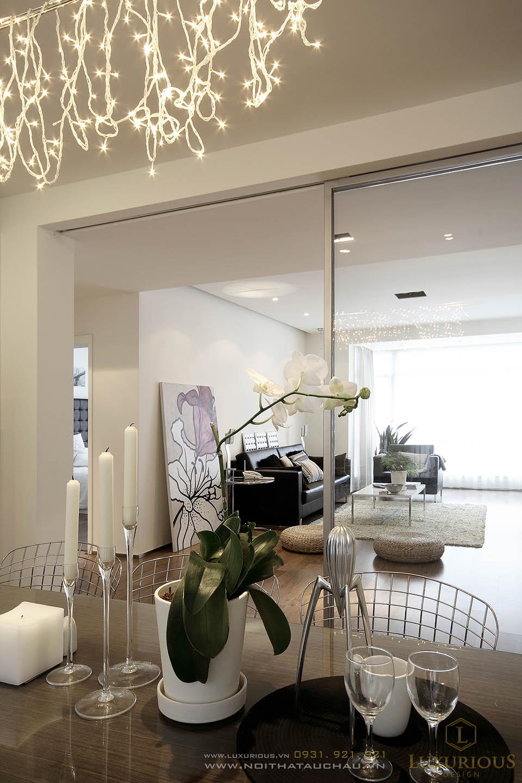 Thiết kế nội thất nhà biệt thự đẹp hiện đại 3 tầng