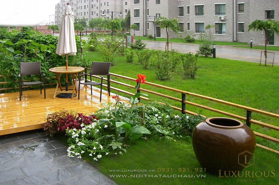 Thiết kế thi công nhà vườn hiện đại