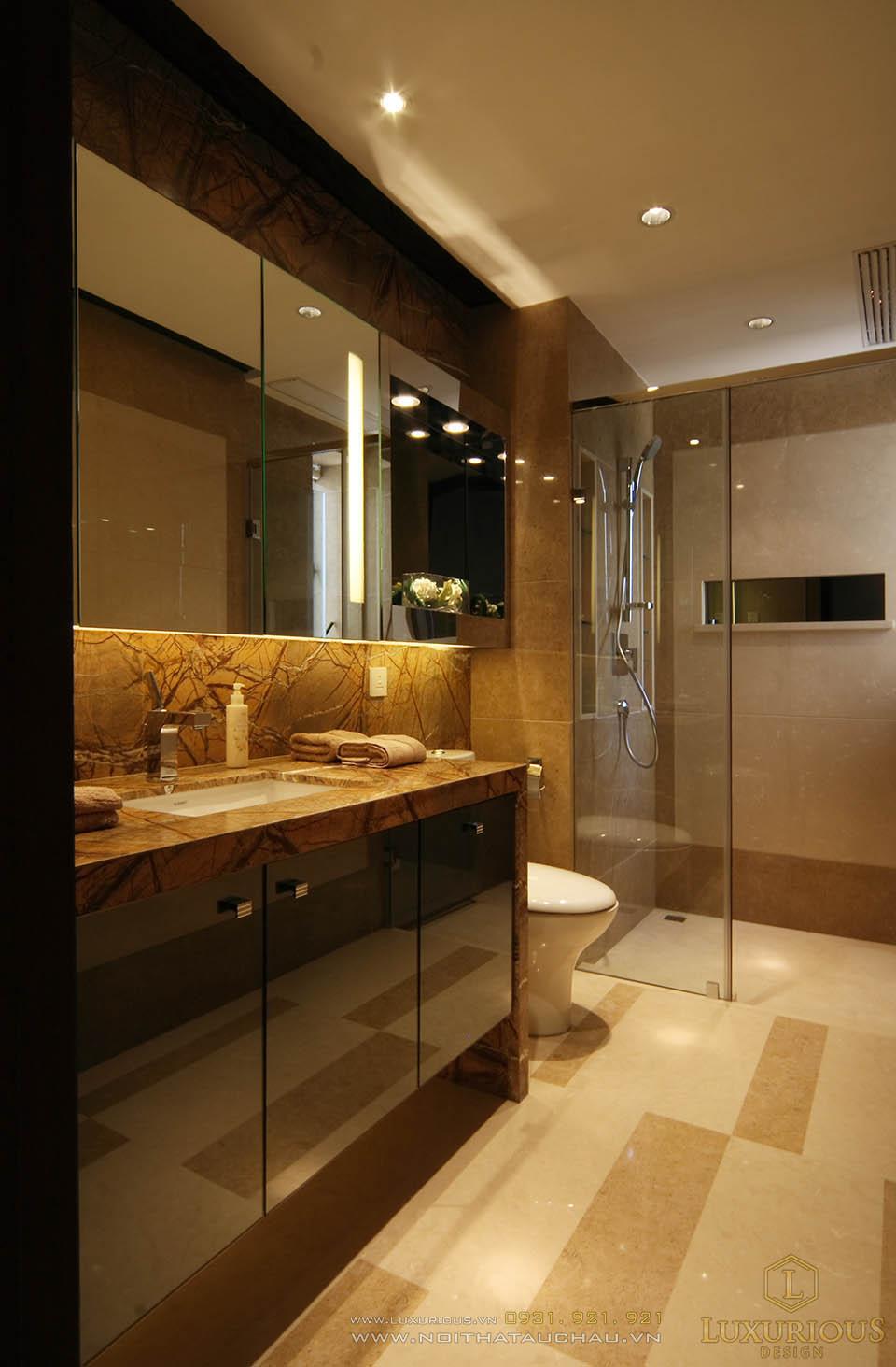 Thiết kế thi công nội thất chung cư hiện đại 130m2