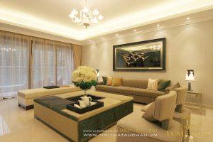 Thiết kế căn hộ chung cư 130m2 hiện đại