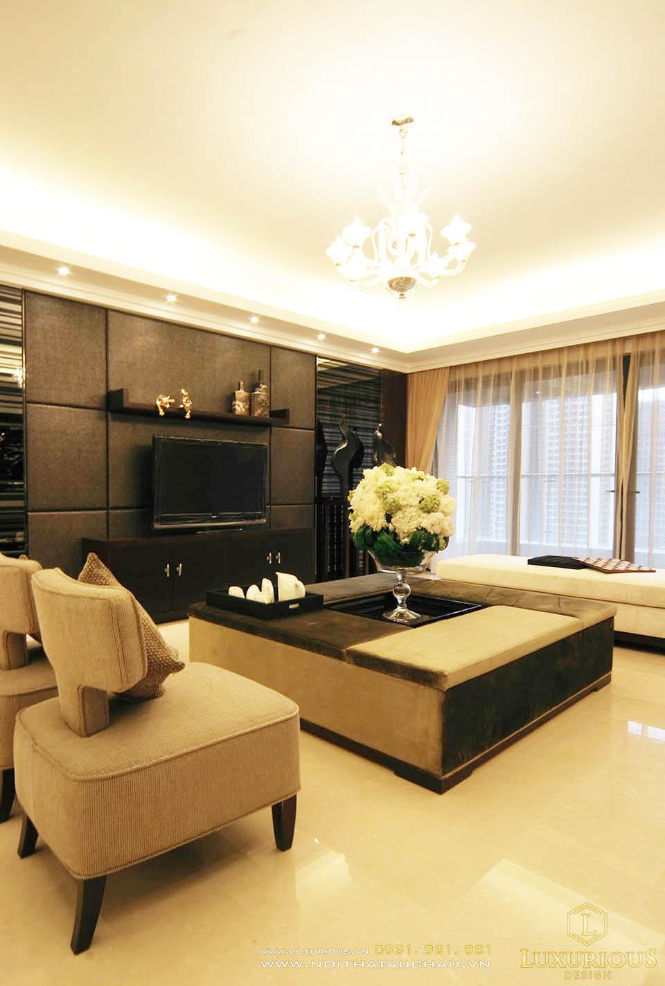 Thi công nội thất chung cư 130m2 TP Hồ Chí Minh