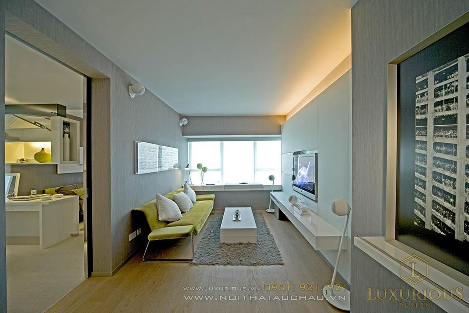 Thiết kế thi công nội thất chung cư mini