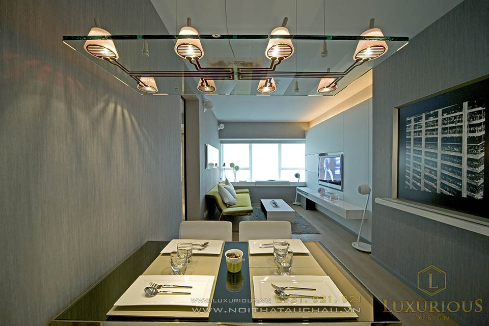 thi công nội thất chung cư mini 30m2 phong cách hiện đại