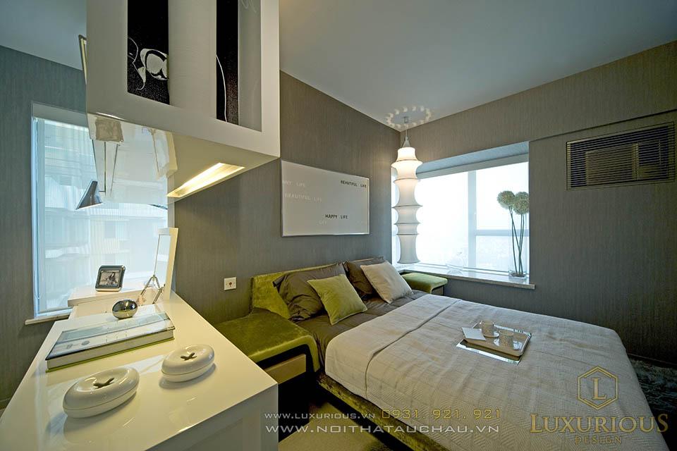 thiết kế thi công nội thất chung cư nhỏ hiện đại