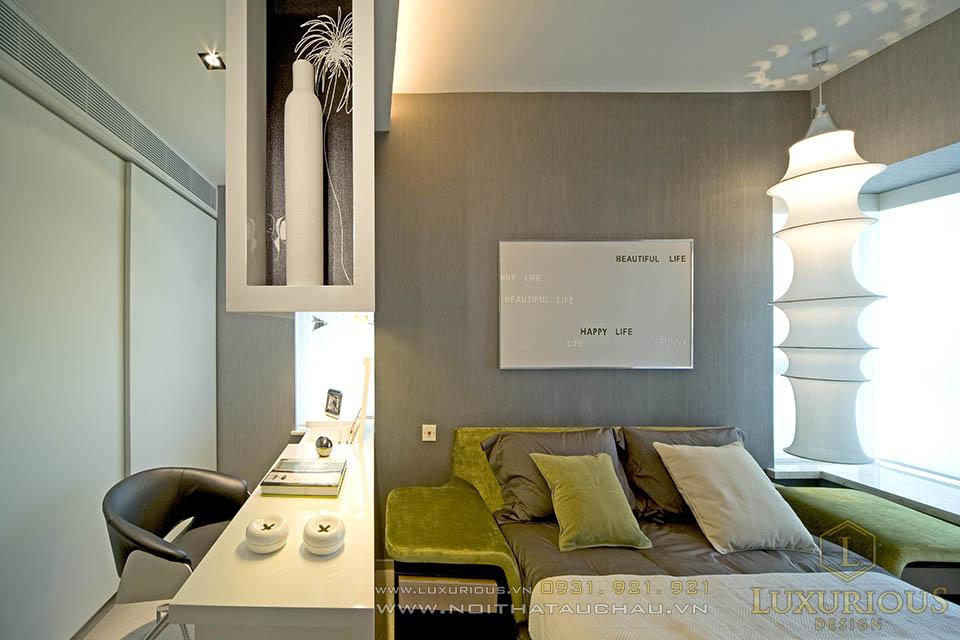 Thiết kế thi công nội thất chung cư mini hiện đại