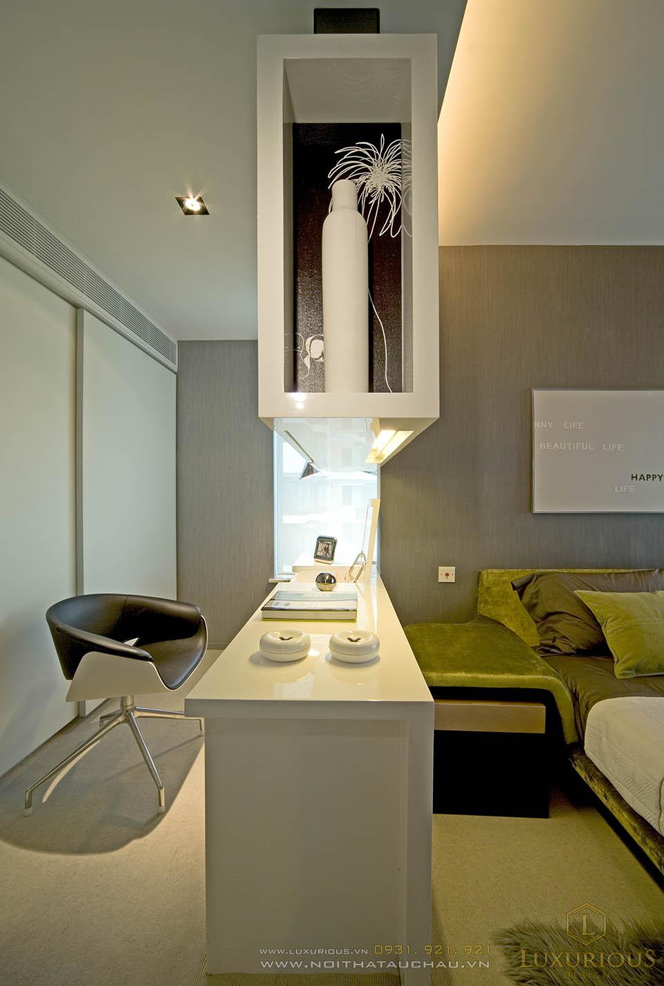 Thiết kế thi công nội thất chung cư mini 1 phòng ngủ