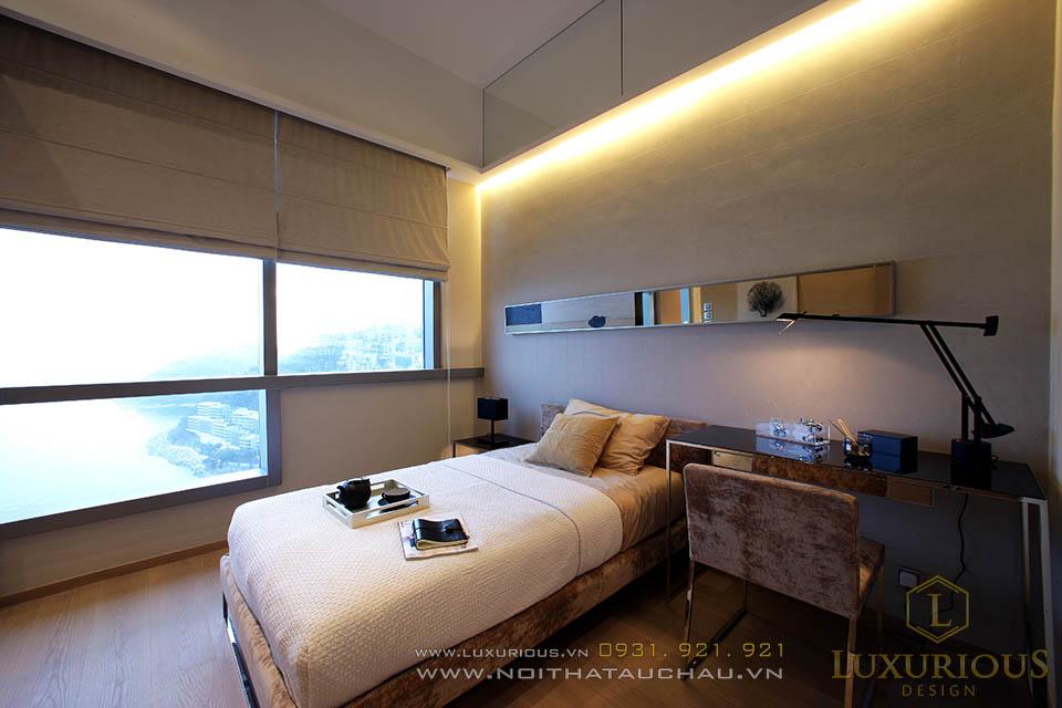 Thiết kế thi công nội thất phòng ngủ khách sạn 5 sao