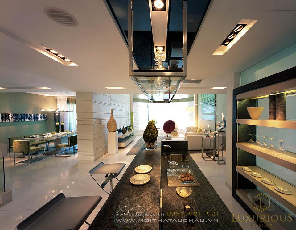 Luxurious design chuyên thi công penthouses cao cấp