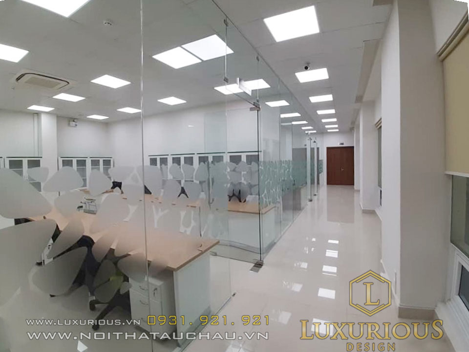 Thiết kế văn phòng vietcombank
