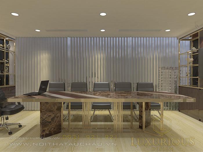 Thiết kế nội thất phòng họp Luxurious Design