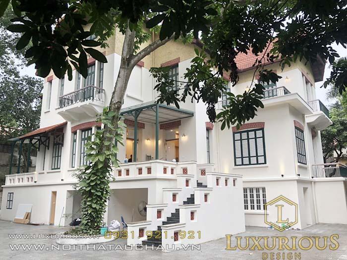 Công ty thiết kế kiến trúc biệt thự phan đình phùng Hà Nội