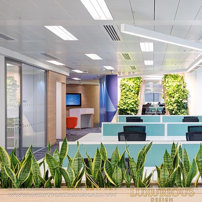 Mẫu thiết kế văn phòng công ty đẹp