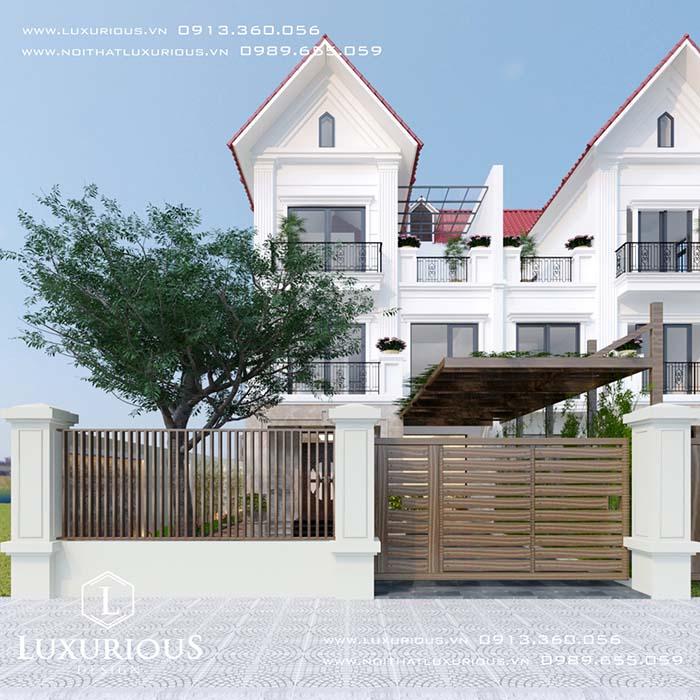 Mẫu thiết kế xây dựng biệt thự Vinhomes