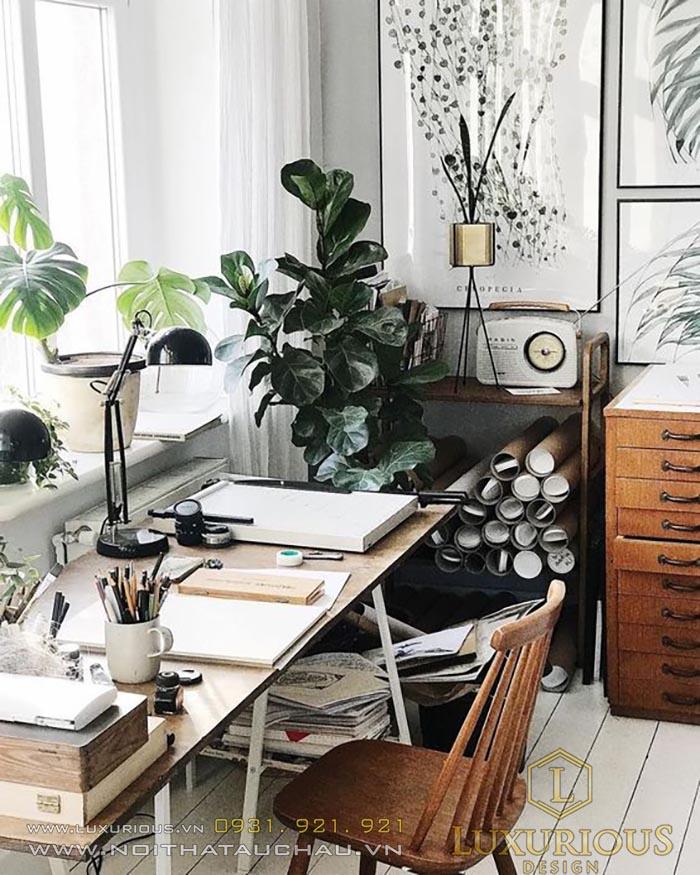Mẫu văn phòng Art Decor