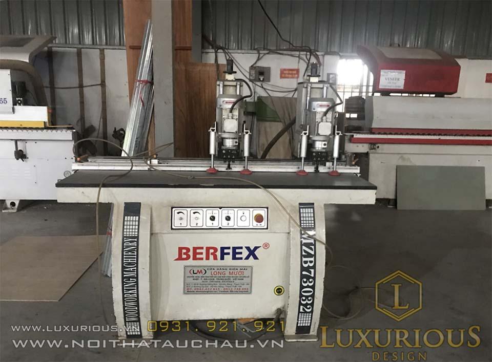 Máy móc hiện đại tại nhà máy Mộc Minh Đức