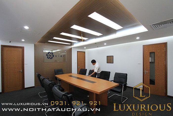 Thiết kế nội thất văn phòng sang trọng hiện đại