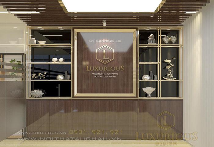 Thiết kế nội thất phòng họp văn phòng MBH