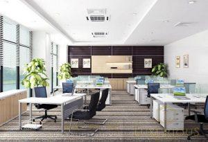 Thiết kế nội thất văn phòng 40m2