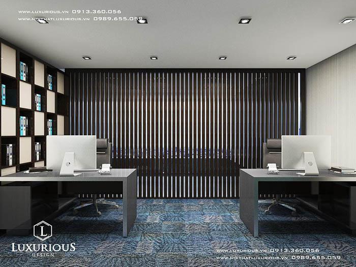Thiết kế nội thất phòng họp công ty MBH