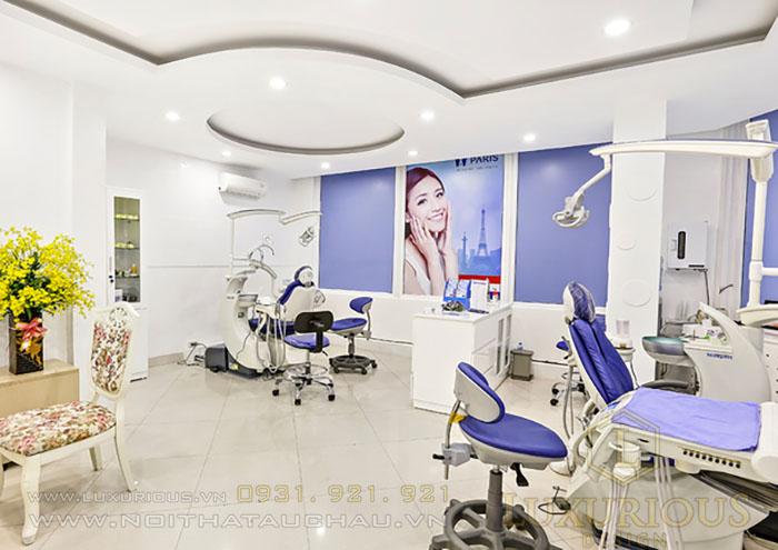 thiết kế nội thất văn phòng nha khoa