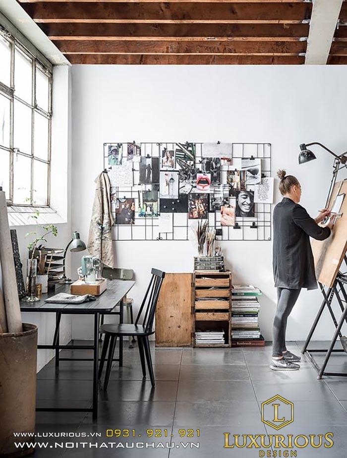 Thiết kế văn phòng phong cách Art Decor
