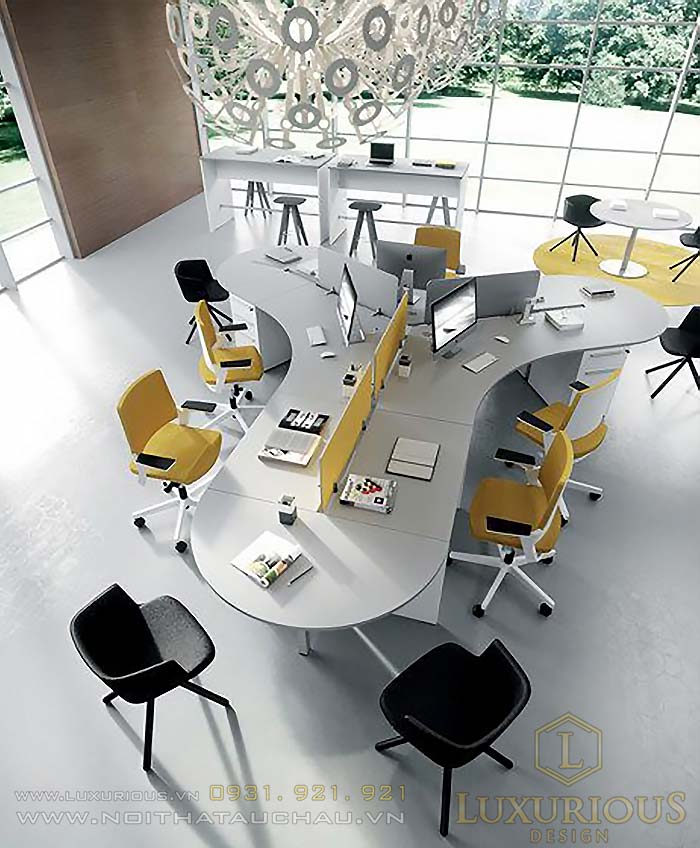 Văn phòng phong cách tối giản