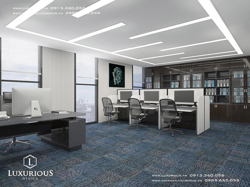 Mẫu thiết kế văn phòng MBH