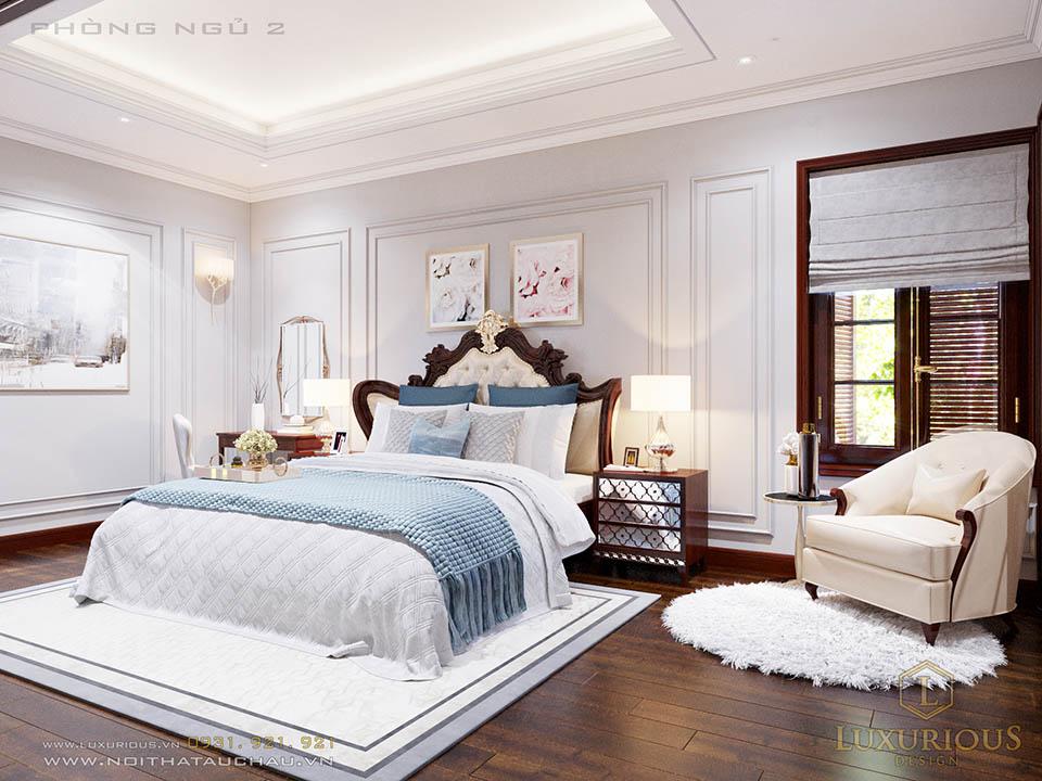 Mẫu phòng ngủ cho con tân cổ điển
