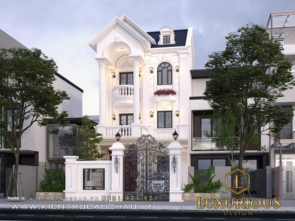 Thiết kế nội thất biệt thự ở Hà Tĩnh