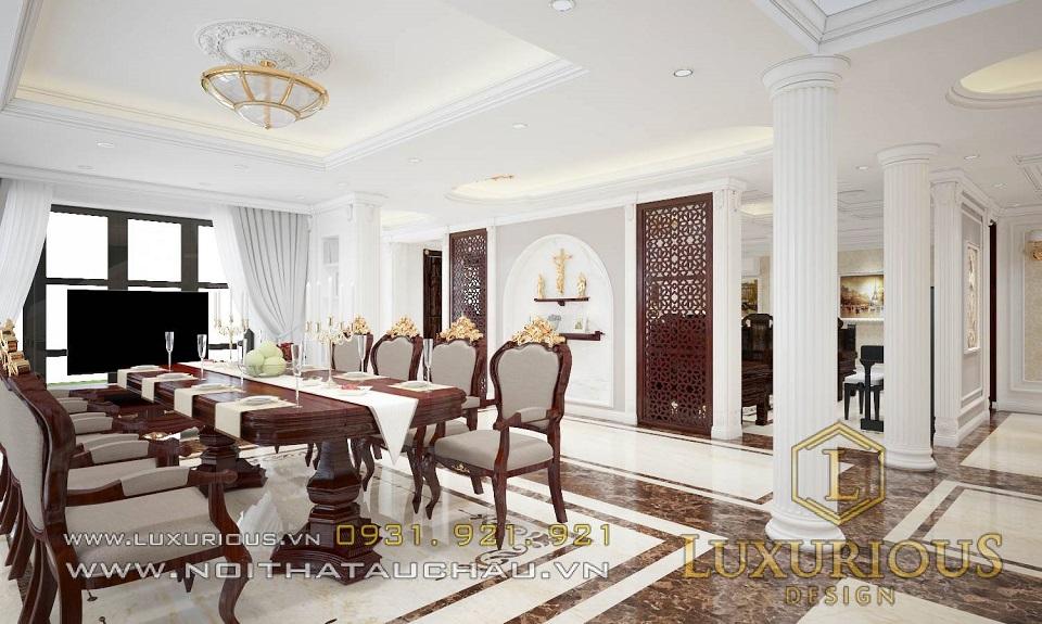 Thiết kế thi công nội thất biệt thự Hà Tĩnh