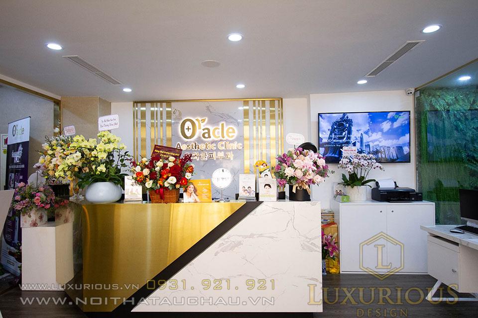 Thi công nội thất Spa Oracle Beauty Clinic Hàn Quốc