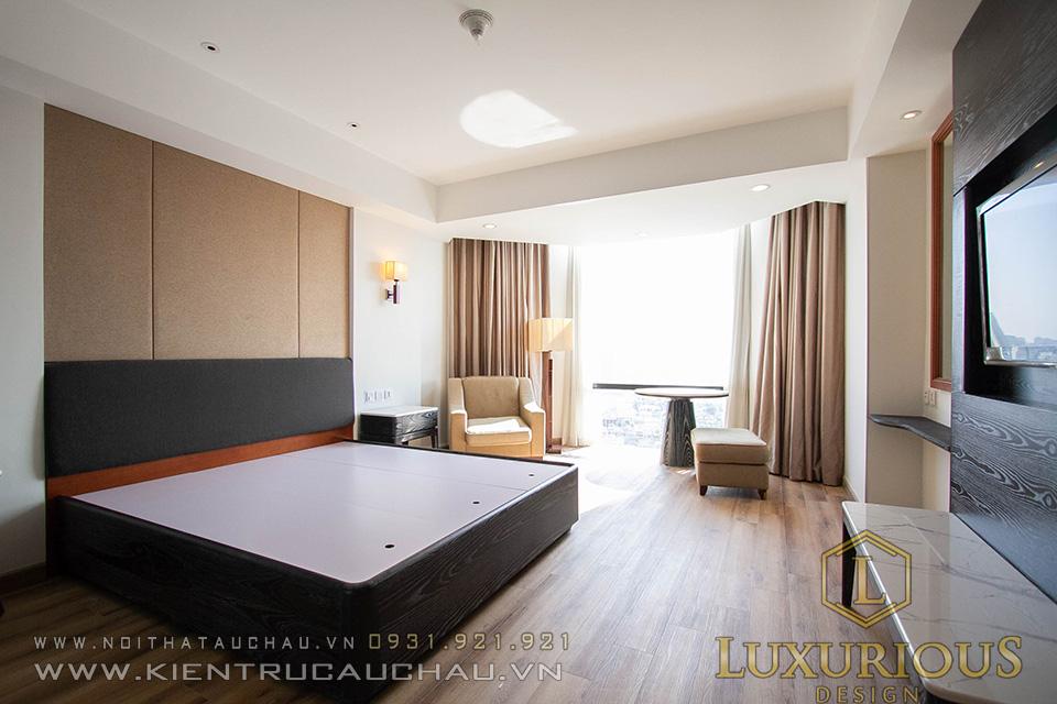 Hoàn thiện nội thất phòng khách sạn 5 sao