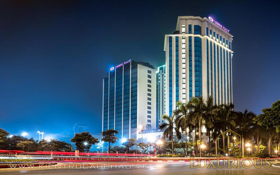 Kiến trúc khách sạn đẹp