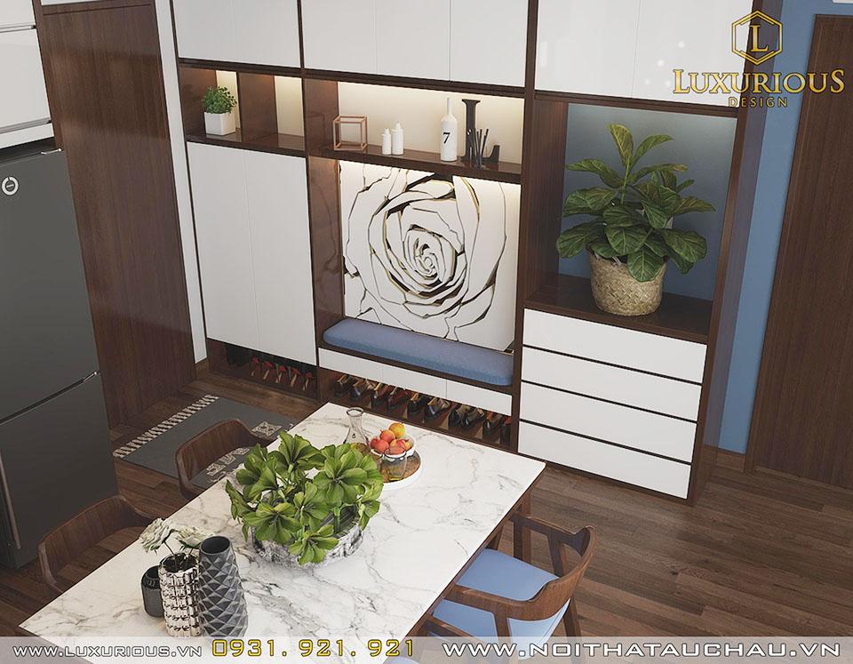 Mẫu phòng bếp chung cư Hạ Long Quảng Ninh