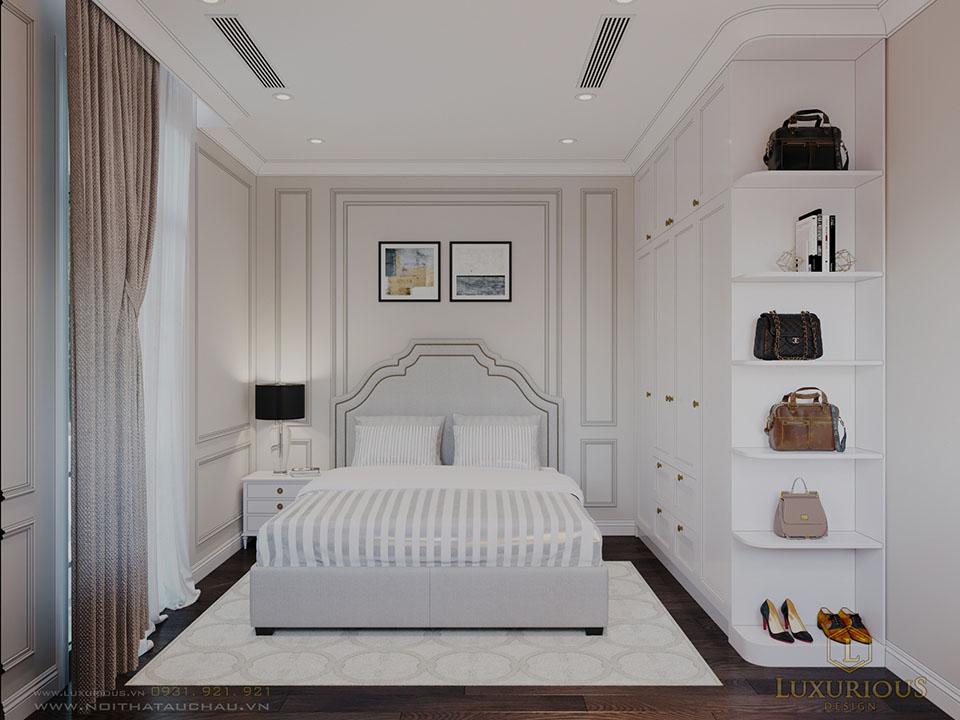 Phòng ngủ biệt thự Vinhomes Imperia phân khu Manhattan