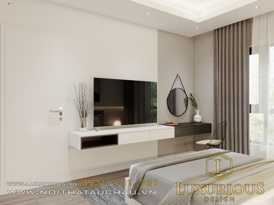 Vẻ đẹp hiện đại tinh tế trong mẫu thiết kế nội thất chung cư Samsora Prermier