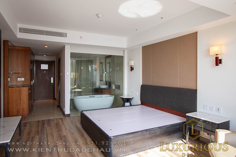 Thi Công Nội Thất Khách Sạn Crowne Plaza