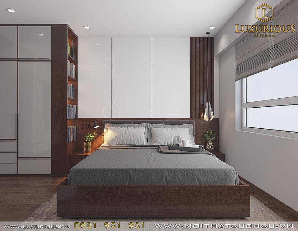 Phòng ngủ chung cư cho con trai