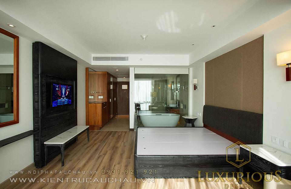 Thi công phòng khách sạn 5 sao crowne plaza