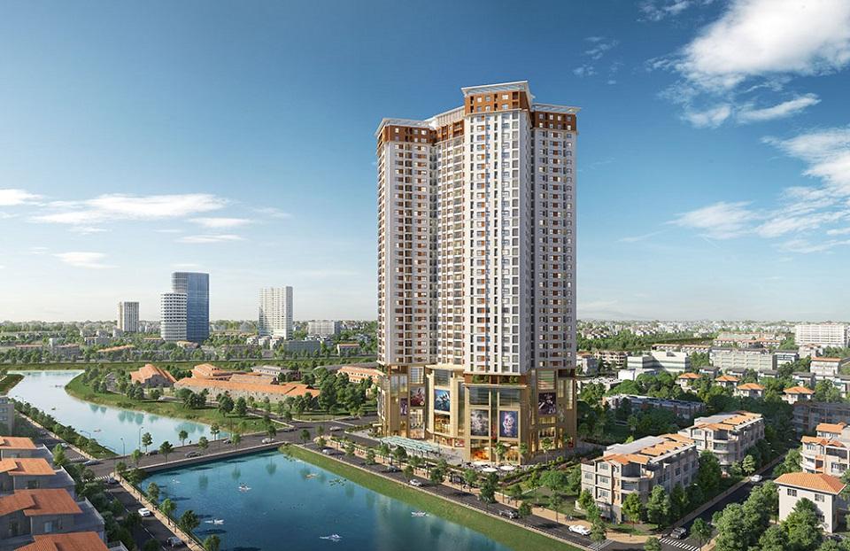 Thiết kế nội thất căn hộ chung cư Samsora Prermier 105 Hà Đông