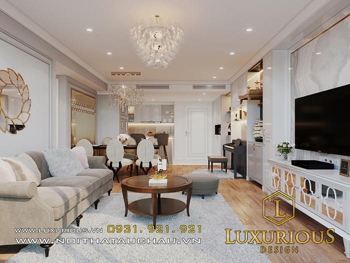 Chiêm ngưỡng mẫu thiết kế nội thất căn hộ 2 phòng ngủ