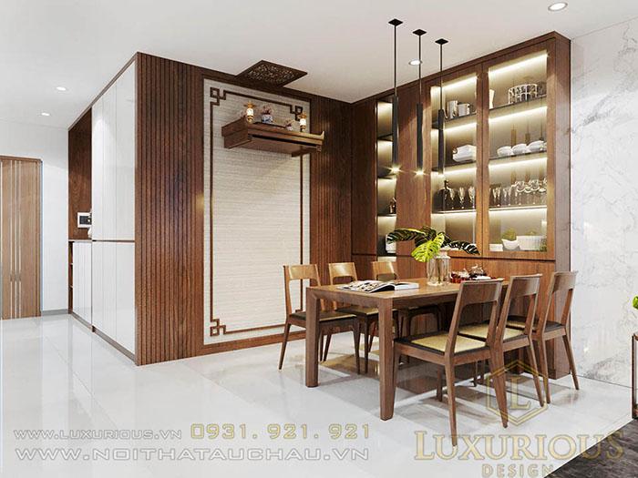 Thiết kế nội thất chung cư 120m2 3 phòng ngủ