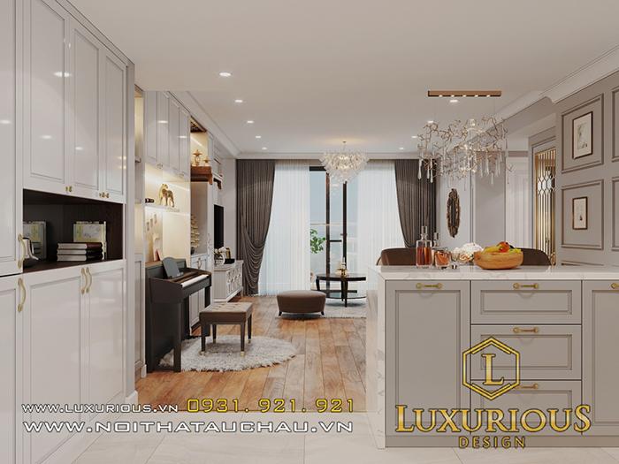 Thiết kế nội thất chung cư nhỏ 2 phòng ngủ