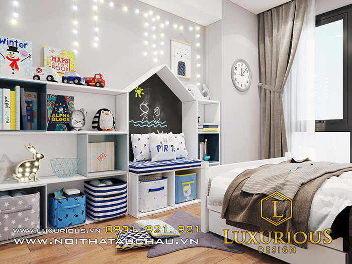 Mẫu nội thất chung cư 3 phòng ngủ