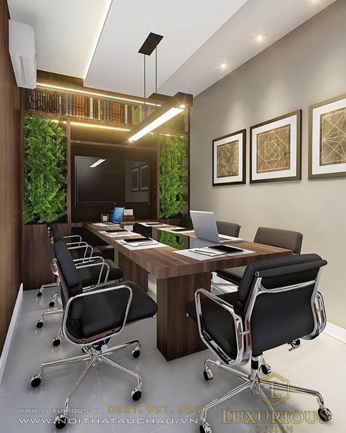 Mẫu thiết kế phòng họp nhỏ