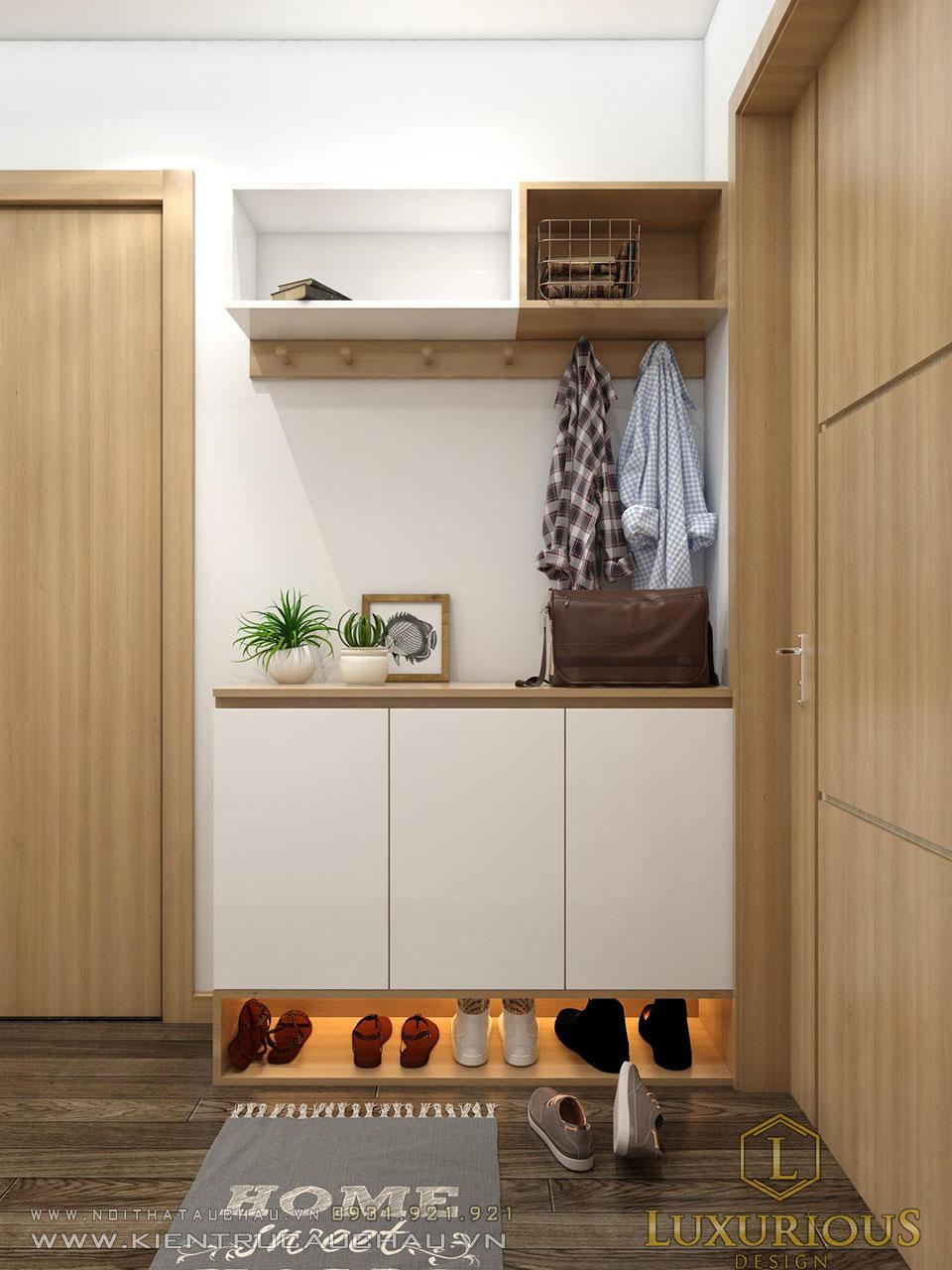 Mẫu thiết kế chung cư định công hiện đại