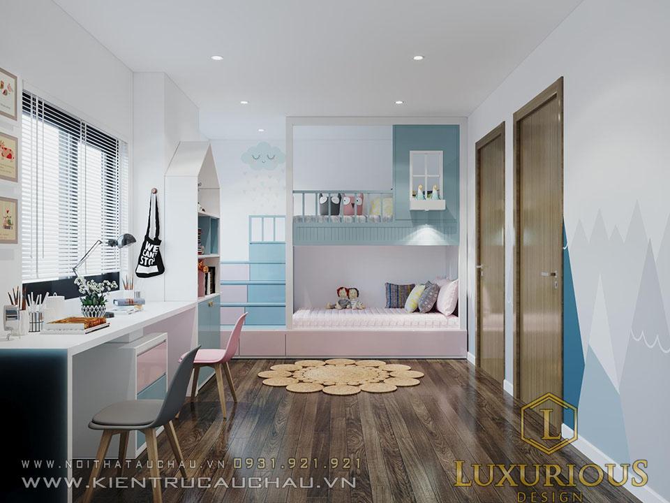 Phòng ngủ cho con chung cư định công