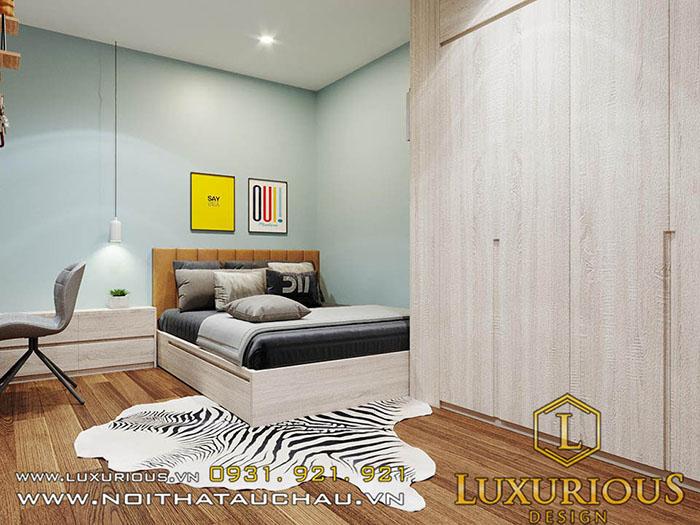 Thiết kế nhà chung cư đẹp 3 phòng ngủ
